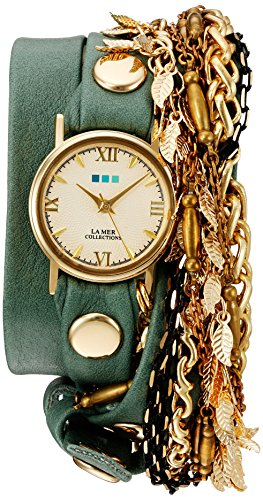 La Mer Collections Women's Quartz Gold-Tone