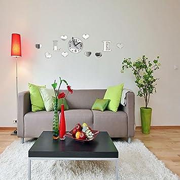 CNMKLM Schwingen, Tisch Wohnzimmer Ideen Wanduhr, Uhr , Schlafzimmer  Einfache Quarzuhr #8