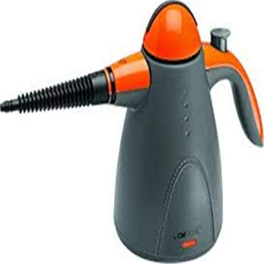 Clatronic DR 3535 - Vaporeta limpiador al vapor de mano, 9 accesorios, 1000 W, color gris y naranja: Clatronic: Amazon.es: Hogar