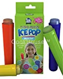 Ice Pop Molds. Best 4 Piece Popsicle Maker Set - New Design Beats Old Ice Cream Trays, Bags or Sticks. Make Frozen Fruit Pops or Other Flavors. FDA Approved Silicone Lolly Molds are BPA Free. Includes 30 Free Recipes and 365 Day Money Back Guarantee