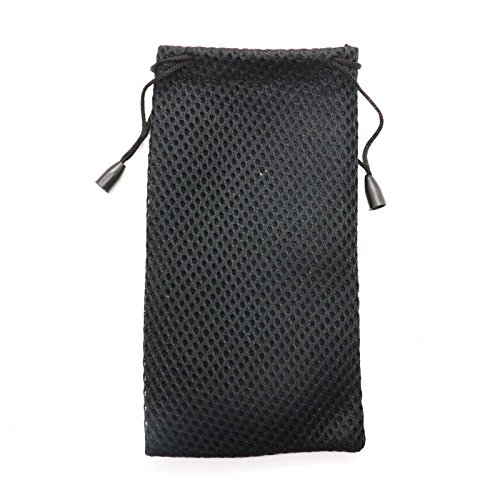 MAISHO 20pcs Nylon Mesh Drawstring Bag Pouches for Sunglasses Cellphone - Mp3 Sunglass