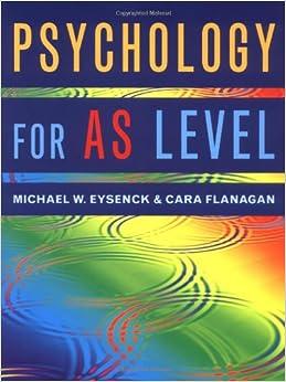 Michael W. Eysenck - Psychology For As Level