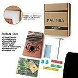 Kalimba Thumb Piano 17 Keys with Study