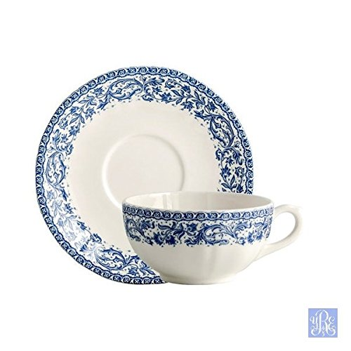 Gien Rouen 37 Breakfast Cup & Saucer Set