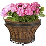 CobraCo FLPLQEP-BZ Queen Elizabeth Parasol Bronze Floor Planter Outdoor, Home, Garden, Supply, Maintenance