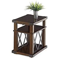 Progressive Furniture P527-29 Landmark Chairside Table, Brown