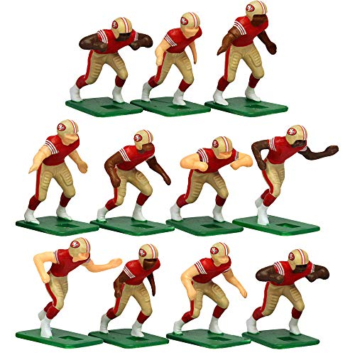 San Francisco 49ers Home Jersey NFL Action Figure Set -