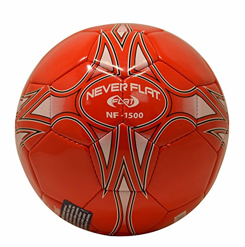 Spalding NF-1500 Never Flat Red Soccer Ball (Never Flat Football compare prices)