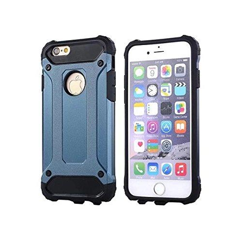 "IPhone 6 Coque,IPhone 6S 4.7 ""Coque,Lantier Refroidir série 2 en 1 Cover Coque Combo Hybrid Defender High Impact Body Armor pour Apple Iphone 6/6S 4.7"" Deep Blue"