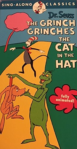 Dr. Seuss: The Grinch Grinches the Cat in the Hat [VHS] (Grinch Hat)