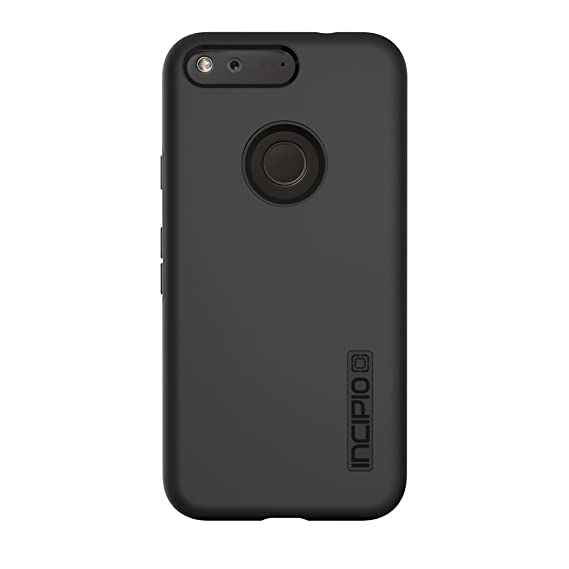 detailed look 9760d 254e8 Google Pixel XL Case, Incipio [Hard Shell] [Dual Layer] DualPro Case for  Google Pixel XL-Black/Black