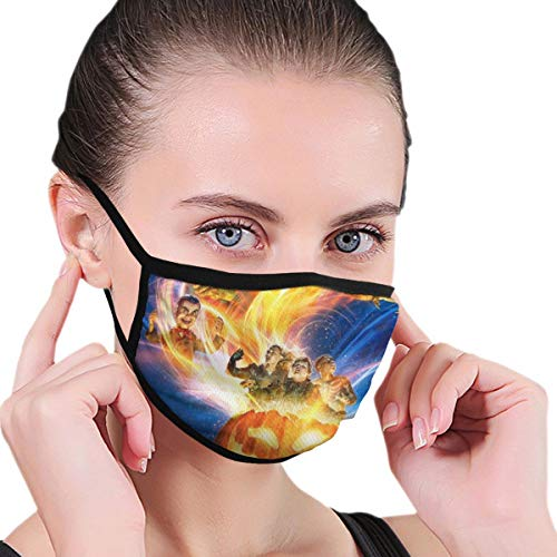 Dean Carnegie Goose_Bumps Face Mask Adjustable Mouth Mask Anti Dust Face Mouth Mask Reusable Mask for Cycling Camping Travel