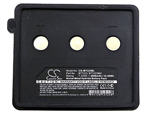 Cameron Sino Ni-MH 7.20V 2000mAh / 14.40Wh Replacement Battery for Itowa Compact, Beton, Compatible With Itowa BT7223, BT7223MH - Cameron Metal