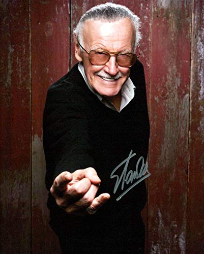 STAN LEE signed 8X10 photo