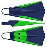 Voit Duck Feet Swim Fins, X-Large, Green/Blue