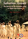 Front cover for the book Salvation Assault: The History of the Salvation Army in Papua New Guinea by Allen Satterlee