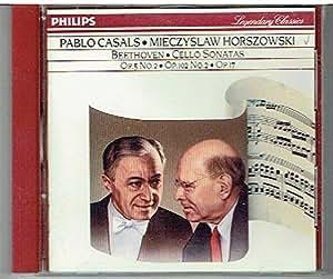 Beethoven : Cello Sonatas (Op.5 No.2, Op.102 No.2, Op.17)