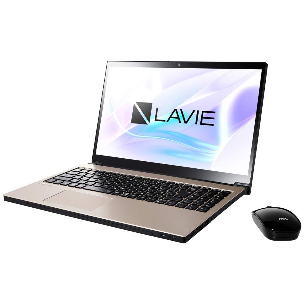 【新品、本物、当店在庫だから安心】 NEC 15.6型 ノートパソコン NEC LAVIE B07JH8HM87 Note NEXT NX750/LAシリーズ ノートパソコン クレストゴールドLAVIE 2018年 秋冬モデル[Core i7/メモリ 8GB/HDD 1TB/Office H&B 2016] PC-NX750LAG B07JH8HM87, 北巨摩郡:74c69ee3 --- ballyshannonshow.com