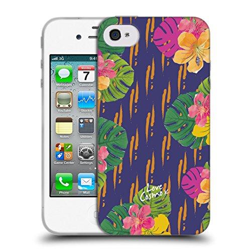 Official Cosmopolitan Hawaiian Tropical Soft Gel Case for Apple iPhone 4 / 4S
