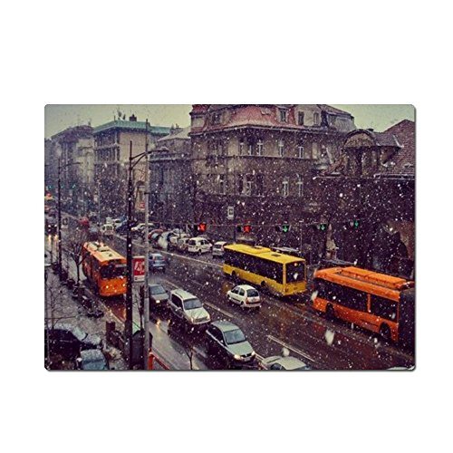 Concrete Parking Pad (Street snow cars Mouse pad, Gaming Mouse Pads 9.84