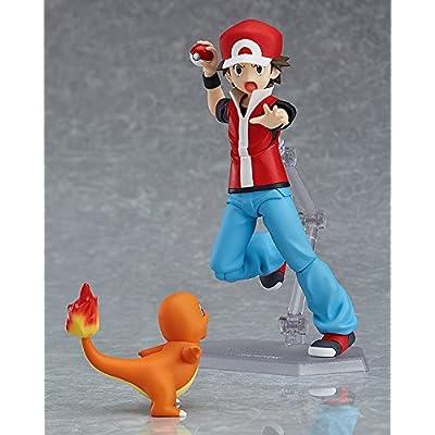Good Smile Pokémon: figma Red Action Figure: Toys & Games