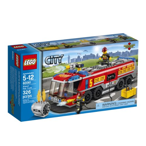 - LEGO City Great Vehicles 60061 Airport Fire Truck