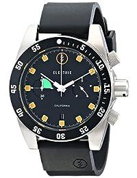 Electric Men's EW0070030020 DW02 PU Band Analog Display Japanese Quartz Black Watch