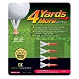 "4 Yards More Reduced Friction Golf Tee; 1-3/4"", 2-3/4"", 3-1/4"", 4"", Variety Pack and Hybrid"