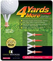 """4 Yards More Reduced Friction Golf Tee; 1-3/4"""", 2-3/4"""", 3-1/4"""", 4"""", Var"""