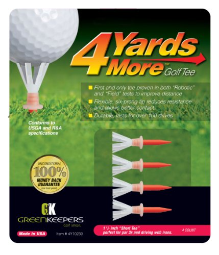 - 4 Yards More Golf Tees - 1 3/4