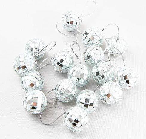 Klicnow 24 pcs 1.8 Inch Disco Ball Mirror