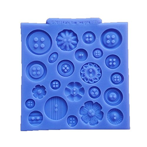 dipshop Silicone Button Cake Sweet Candy Jelly Ice Mold Chocolate Mould Kicthen Baking Decorations Tool