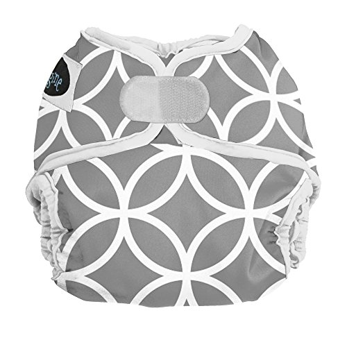 (Imagine Baby Products Newborn Hook and Loop Diaper Cover, Ring-a-Ding )