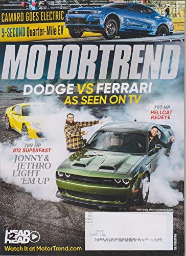 Motor Trend May 2019 Dodge vs. Ferrari As Seen On TV