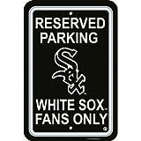 Chicago White Sox MLB Plastic Parking Sign