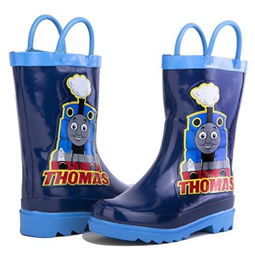 Thomas the Tank Engine Boy's Blue Rain Boots (Toddler/Little Kid) (10 M US (Friends Blue Engine)