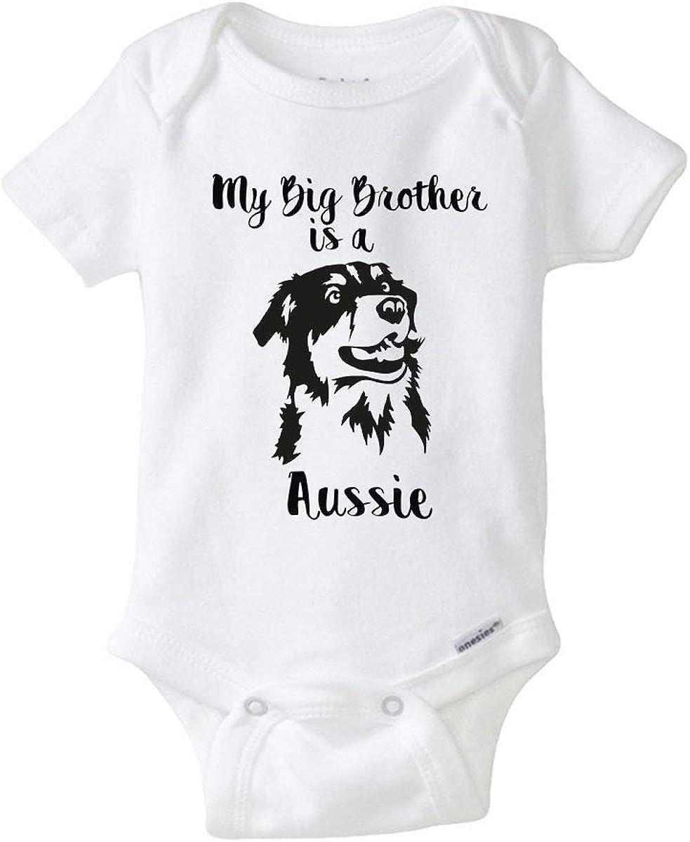 Australian shepherd Bodysuit baby gift Dog Lover baby boy Australian Shepherd Onesie\u00ae dog Onesie\u00ae baby girl custom dog baby shower