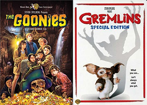 Steven Spielberg Presents Goonies & Gremlins 2-DVD Action and Adventure Bundle