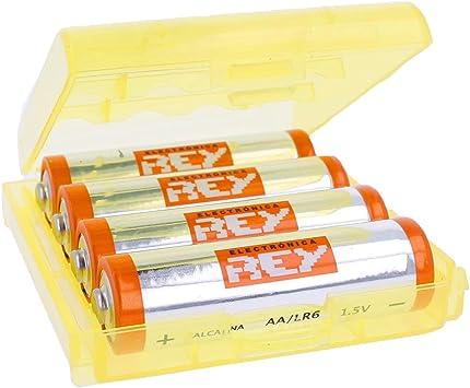 Caja Box Almacenado para Pilas AA, Blister Plástico Estuche ...