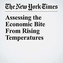 Assessing the Economic Bite From Rising Temperatures