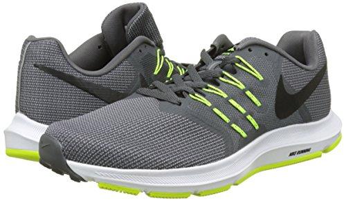 brillo encantador Tienda amplia gama Buy Nike Men's Cool Grey/Black/Volt/White Mesh Running Shoes - 11 ...