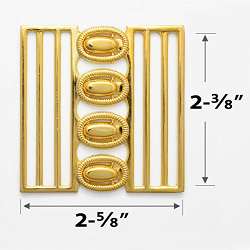 Metal Gold Closure Buckle for belt, handbag, shoes, fashion accessories, 1 Set, TR-10088B