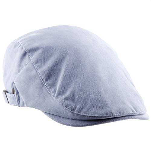 Samtree Unisex Newsboy Cap, Classic Corduroy Ivy Beret Cabbie Driving Hat(Light Blue)