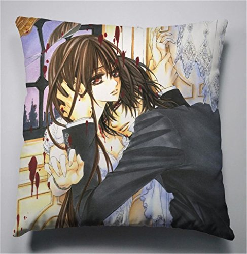 Siawasey Anime Vampire Knight Cartoon Kurosu Yuki Cosplay Pillow Cushion Double-sided 45cm*45cm(P# 05)