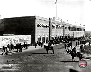 1912 FENWAY PARK BASEBALL STADIUM BOSTON RED SOX 8x10 Photo PHOTOFILE