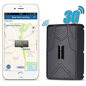 Amazon com: KingNeed 3G Magnetic GPS GSM WiFi Tracker GPS Logger for