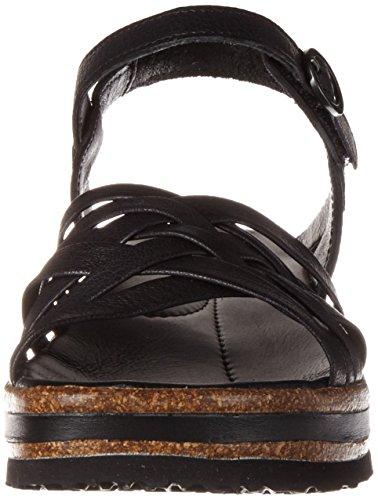 Denken! Dames Zega Slingback Sandalen Zwart (black 00)