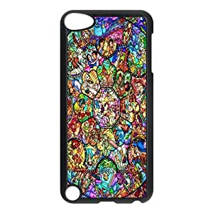 Stained Glass Disney Sleeping Beauty Hard Plastic phone Case Cover+Free keys stand FOR Ipod Touch 5 ZDI036307