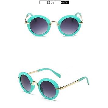 CCGSDJ Niños Goggle Girls Gafas De Sol Anti-UV Chicos ...