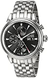 Bulova Men's 'Gemini' Swiss Automatic Stainless Steel Casual Watch (Model: 63C113)